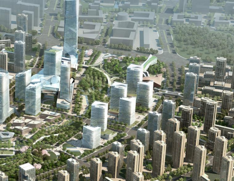 [江苏]南京江宁上坊中心区城市规划方案文本-旧城改造项目-AECOM