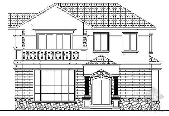 某二层小户型独立别墅建筑施工图