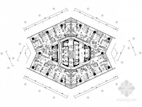 [江苏]148米超高层商业综合楼全套电气施工图纸108张(含变配电工程)
