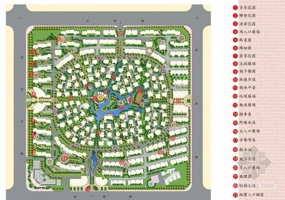 [上海]北美风格高级住宅区景观设计方案