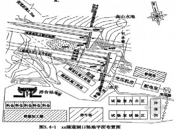 双洞四车道分离式隧道施工组织设计(实施)