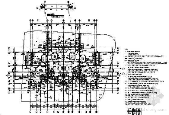 丹堤A区21、22号楼建筑施工图-3