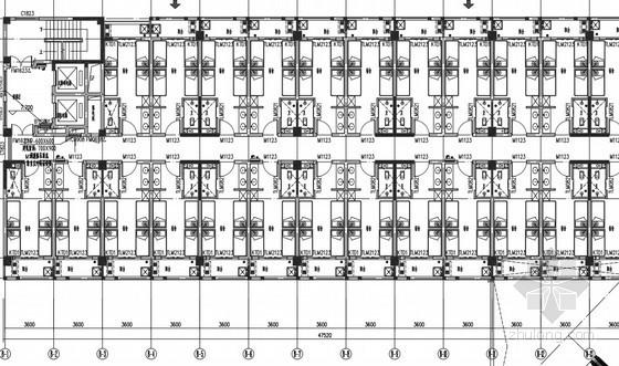 [广东]小高层住宅防排烟系统设计施工图(气体消防)