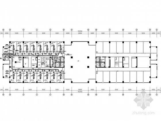 [山东]超高层办公楼空调通风系统设计施工图(多联式空调系统)