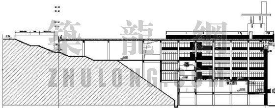 某带有屋顶运动场的综合楼建筑设计方案-3