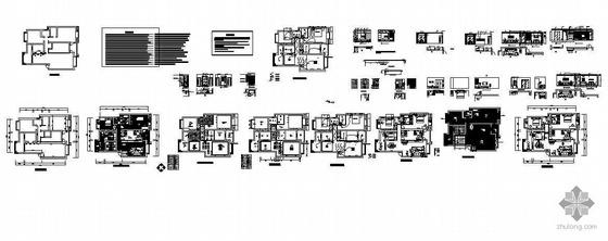 某三室两厅装修施工图