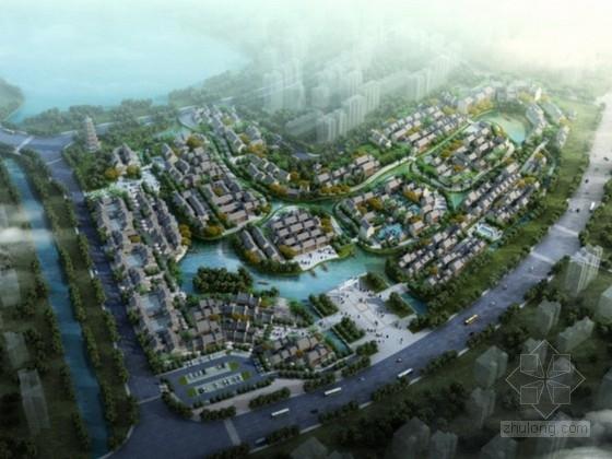 [广东]岭南水乡旅游文化街区概念规划设计方案文本