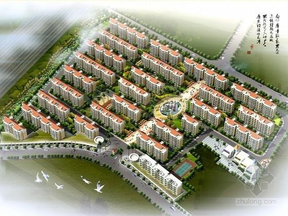 [江西]现代风格生态花园住宅小区规划设计方案文本