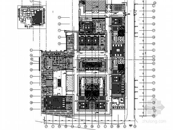 [丽江]知名工作室设计高档SPA室内设计CAD施工图(含效果图、材质图)