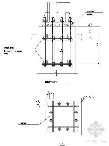钢结构节点精选之柱脚节点