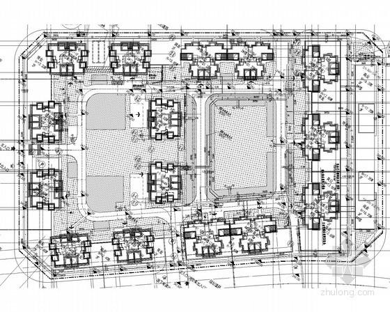 [四川]11万平棚户区改造给排水消防施工图(气体灭火)