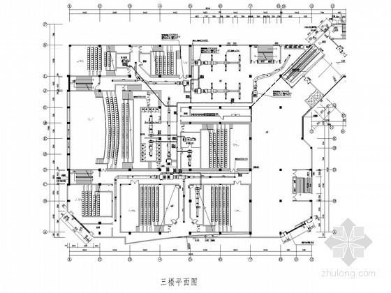 [浏阳]电影院中央空调新风系统施工图(节能设计)