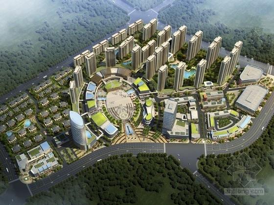 [广东]生态可持续性城市综合体规划设计方案文本