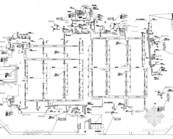 [四川]高层住宅改造楼通风防排烟系统设计施工图(商建 住宅)