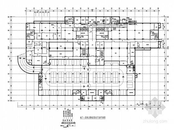 [山西]高层医院病房楼医疗气体系统及热力系统施工图