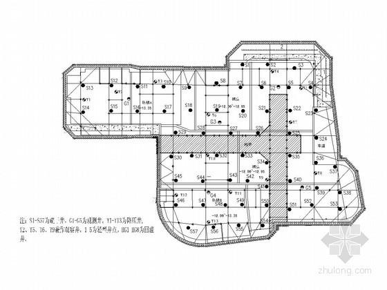 [上海]12米深基坑钻孔灌注桩结合二道支撑支护施工方案(三轴搅拌桩止水)