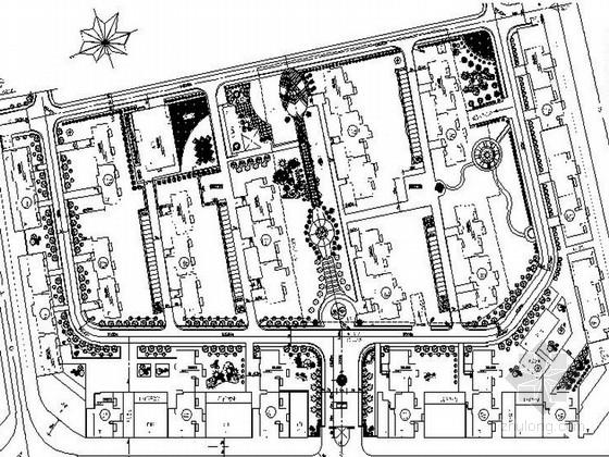 [安徽]全套精品植物园附属小区设计施工图
