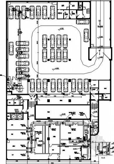 厦门某港口办公楼VRV空调图纸