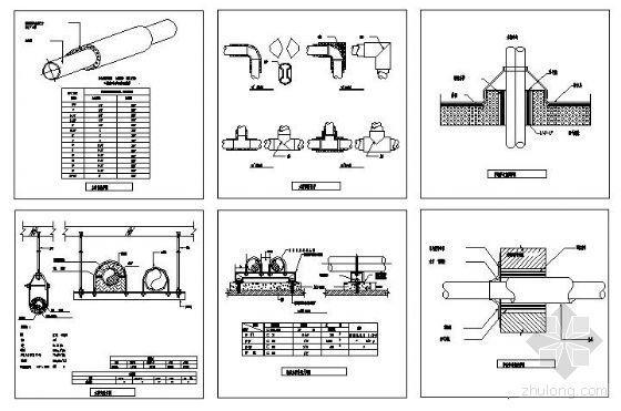 水管安装节点详图