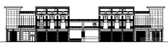 某三层沿街店铺建筑施工图