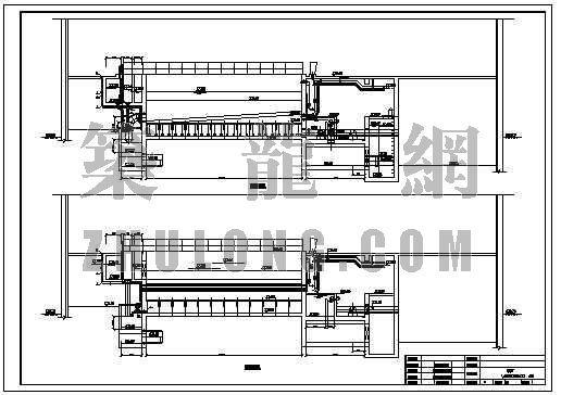 v型滤池全套施工图资料下载-V型滤池工艺图
