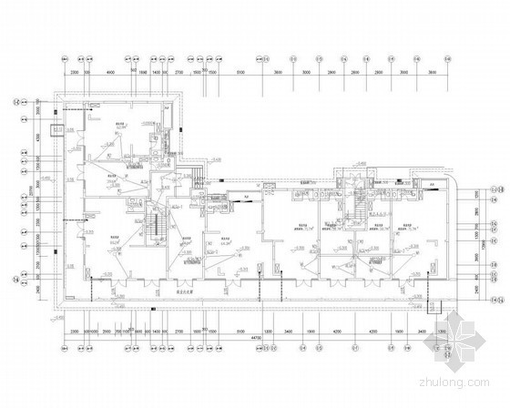 [四川]住宅区花园洋房强弱电施工图170张(9栋建筑)
