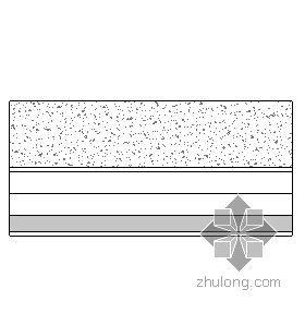 非石棉纤维增强硅酸钙板吊顶(T型轻钢龙骨)