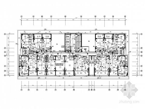 [海南]教学培训中心全套电气施工图纸75张