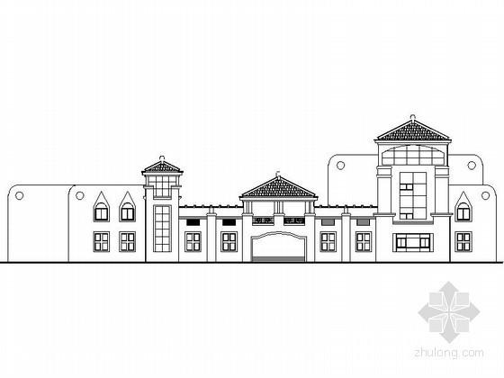 [江苏]某科学院三层九班幼儿园建筑施工图