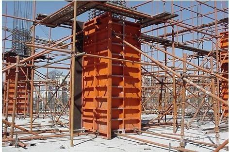 [北京]少年宫定型钢模、木胶合板模板施工方案