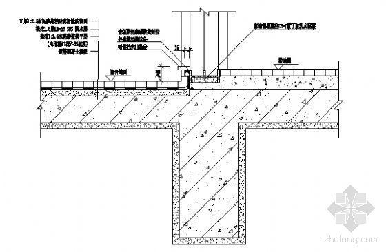 落地窗防水构造
