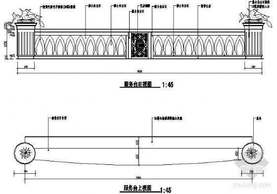 服务台施工图21