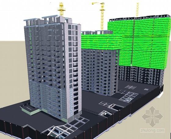 [山东]高层住宅楼工程BIM技术应用情况汇报