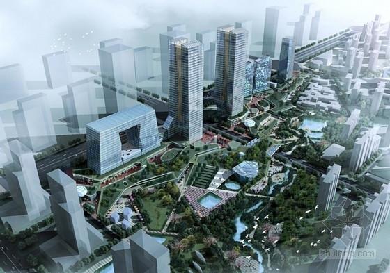 [西安]大型商业区规划及单体设计方案文本(英国知名事务所)