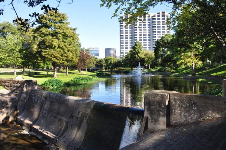 美国沃思堡水道的改造
