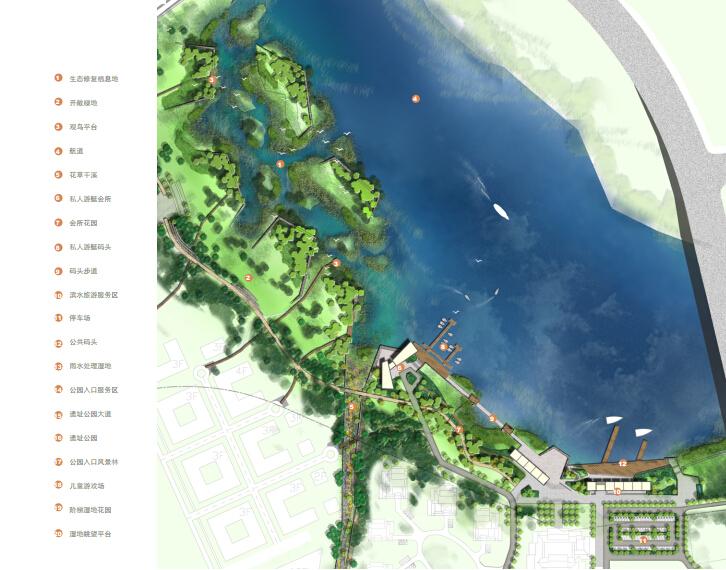 [天津]河故道水岸起步区景观设计方案