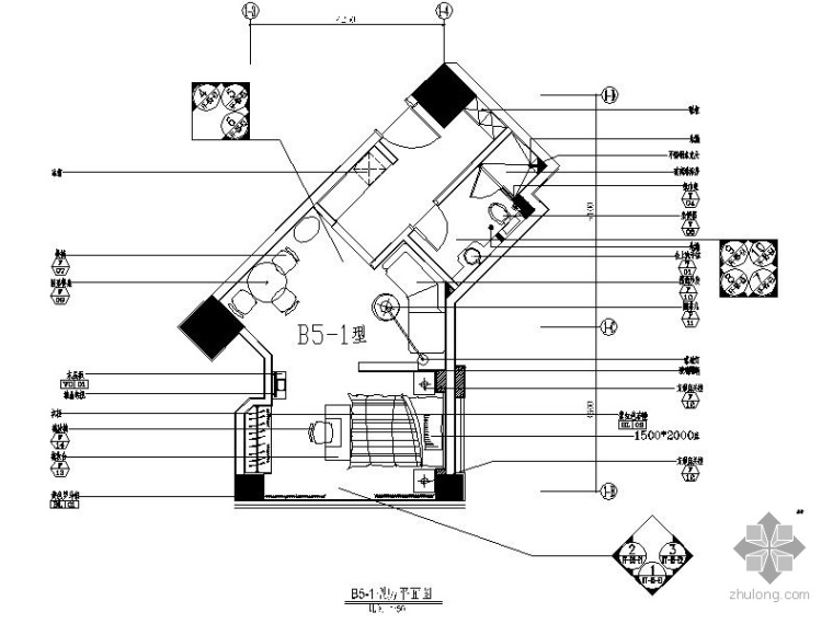 [上海]知名单身公寓装修图