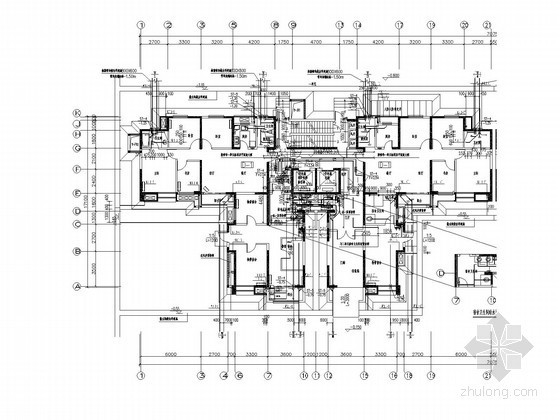 [陕西]33层住宅及洋房给排水施工图