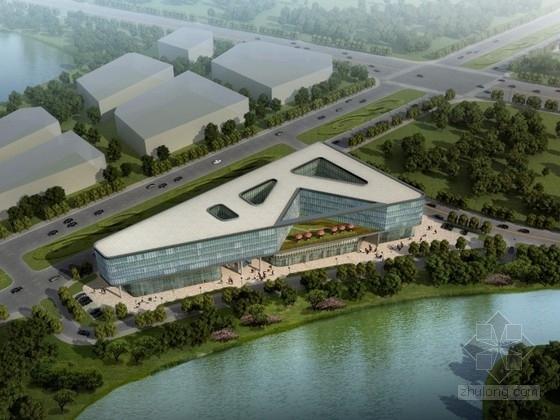 [南京]某六层办公综合楼建筑方案文本