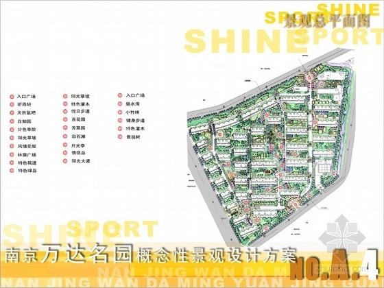 [南京]居住区概念性景观设计方案