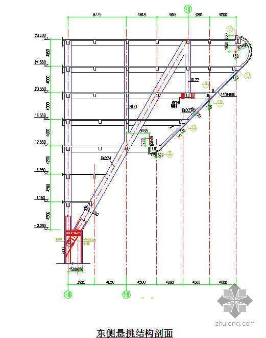 悬挑结构模板支撑架施工方案