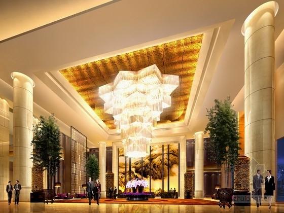 [福州]首家国际性连锁品牌豪华五星级酒店设计方案
