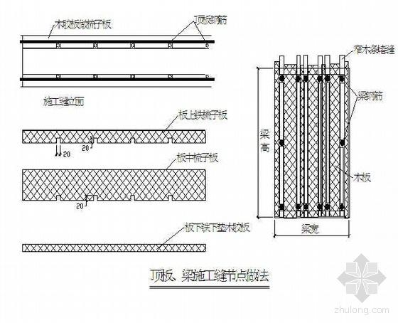 北京某公寓模板工程施工方案(小钢模  大钢模板  木胶合板)