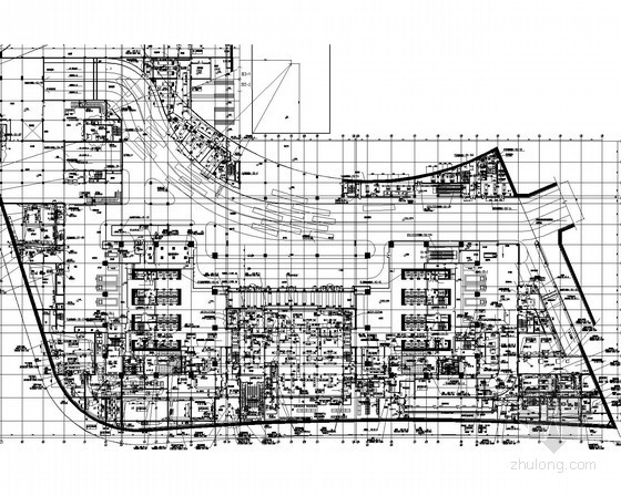 [上海]超高层大厦暖通空调通风排烟系统深化施工图(著名设计院作品 暖通机房图超多)