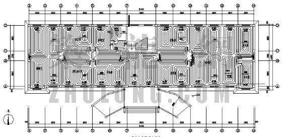 某办公室地板辐射采暖设计图