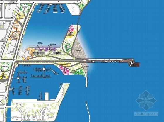 码头总平面图