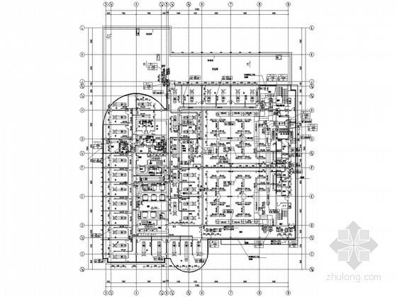 [南京]金融大厦暖通空调设计施工图纸(160米 10万平 知名院)