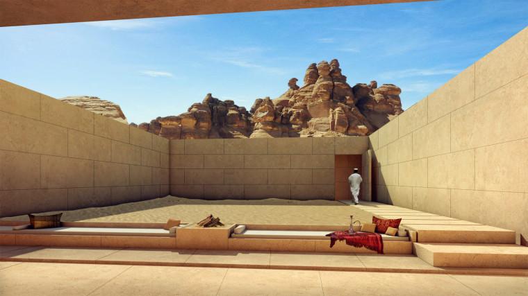 沙特阿拉伯海市蜃楼沙漠酒店-1