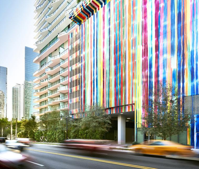迈阿密金融区新地标,SLS brickell豪华酒店