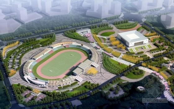 [合集]3套大型体育馆建筑施工图(含效果图及BIM应用信息)